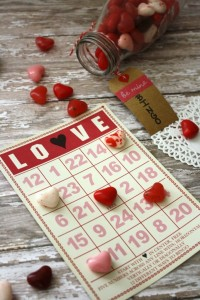 Valentines day game gift Be Mine Bingo