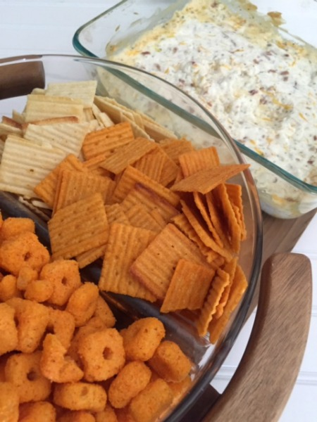 Bacon Cheddar Ranch Dip // Life Anchored #ad #BigGameSnacks