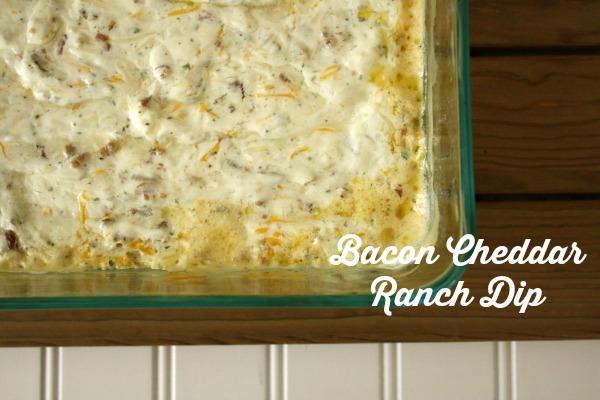 Bacon Cheddar Ranch Dip // Life Anchored #ad #BigGameSnacks