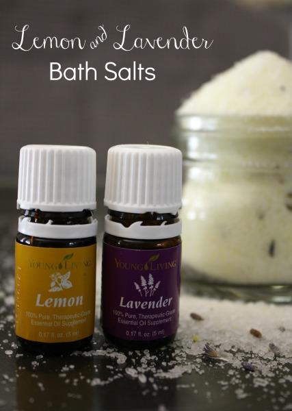 Lemon and Lavender Bath Salts DIY // Life Anchored #YLEO