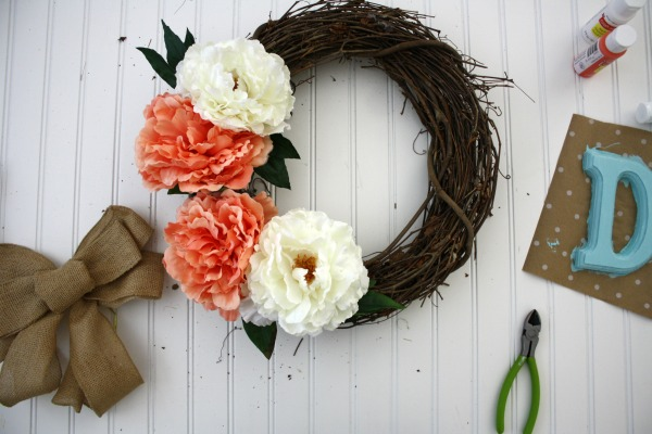 Spring Wreath DIY  //  Life Anchored #Spring