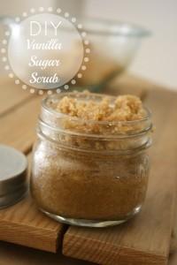 Vanilla Sugar Scrub Recipe // Life Anchored