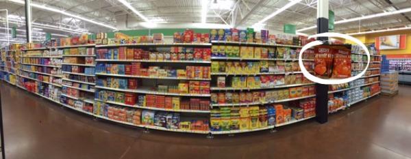 Wal-Mart Cracker Aisle #ad @BigGameSnacks