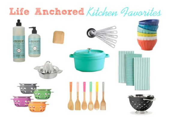 Kitchen Favorites // Life Anchored