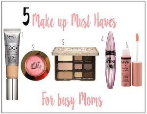 5 make up must haves for busy moms // Life Anchored