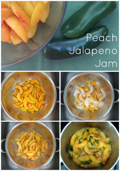 Easy Peach Jalapeno Jam // Life Anchored #PutItOnARitz #ad