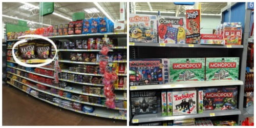 Walmart Game Aisle #GameNightIn #ad