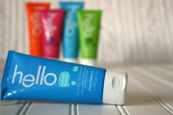 Healthy Habits for Kids Hello Toothpaste // Life Anchored #ad