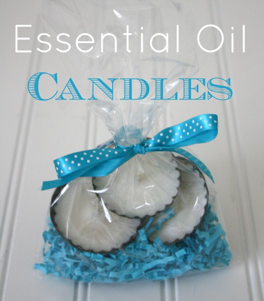 Essential Oil Candles // Lani Derrick #YLEO