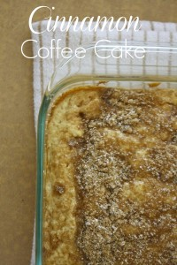 Coffee Cake // Life Anchored #ad #IC @Sweetswaps