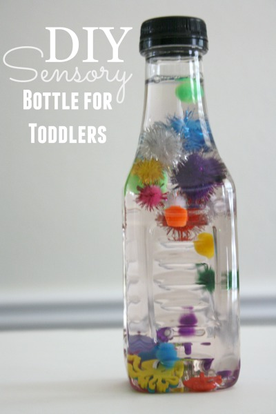 DIY Sensory Bottles for Toddlers