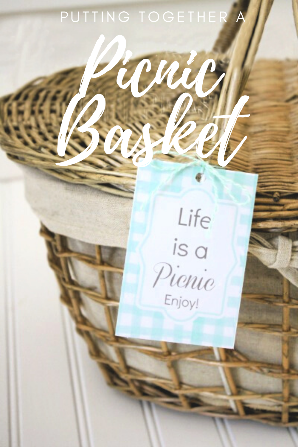 Putting Together A Picnic Basket Gift Life Anchored