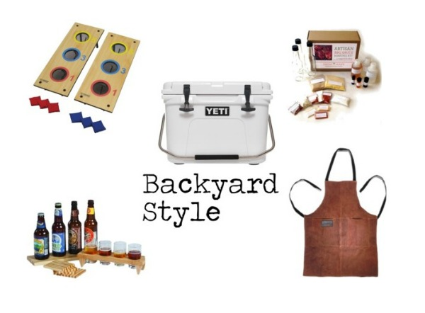 Father's Day Gift Guide // Backyard Style by Life Anchored