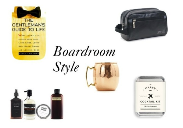 Father's Day Gift Guide // Boardroom Style by Life Anchored