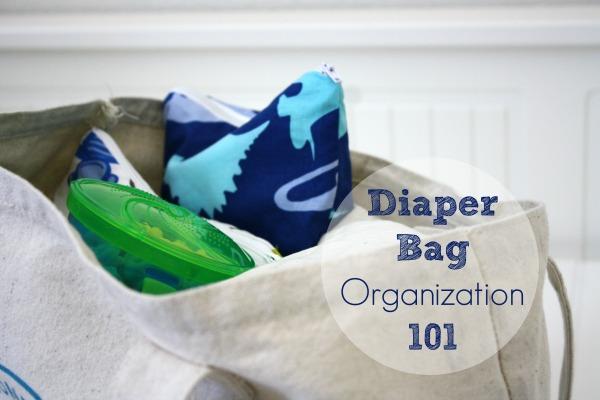 Diaper Bag Organization 101 // Life Anchored