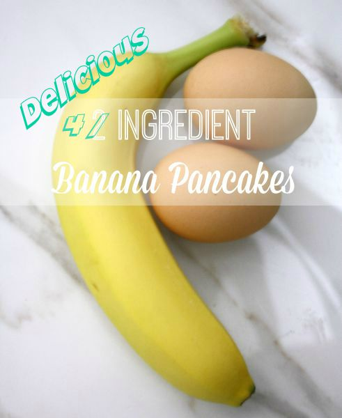 Delicious Easy Banana Pancakes // Life Anchored