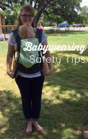 Babywearing Safety // Life Anchored