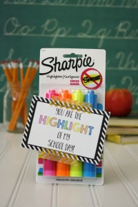 Back to School Teacher Gift under $5- Highlighters