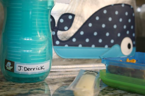 Back to School Lunch Packing Station // Life Anchored #backtoschool