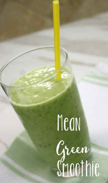 Mean Green Smoothie // Life Anchored