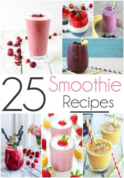 25 Delicious Smoothie Recipes // Life Anchored
