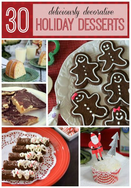30 Holiday Desserts // Life Anchored