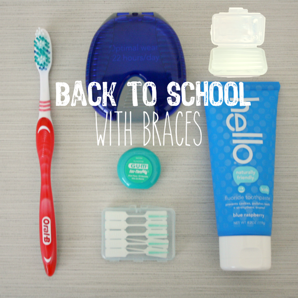 Back to School with Braces // Life Anchored #ad