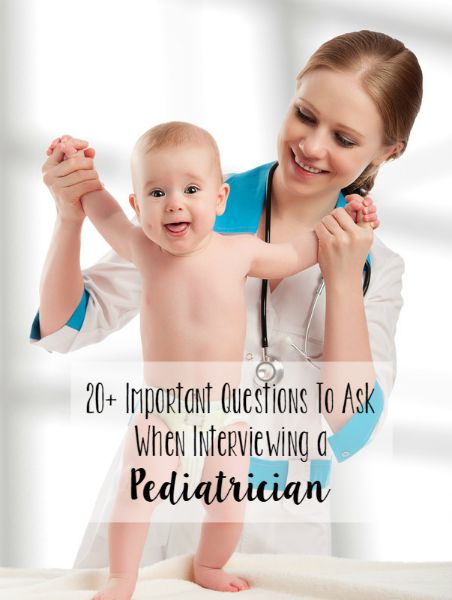 20+ Important Questions To Ask When Interviewing a Pediatrician // Life Anchored