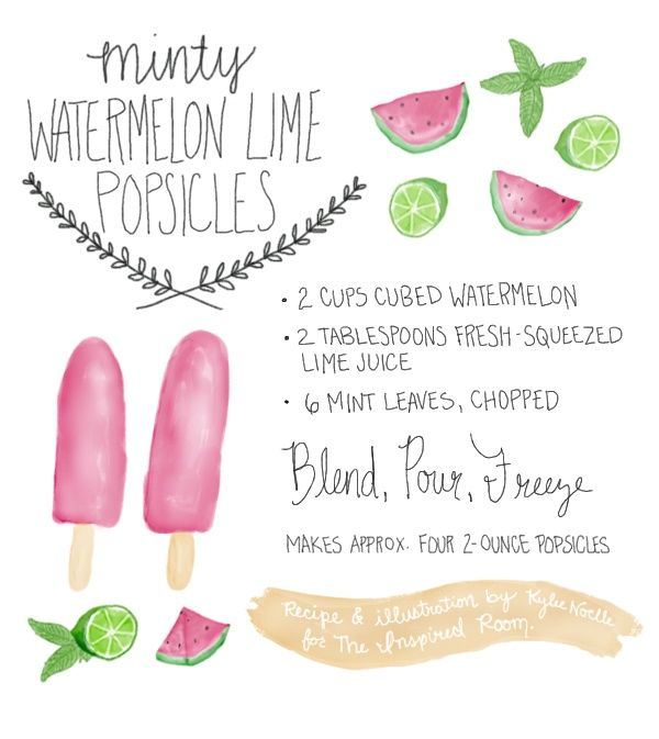 Watermelon Popsicle // Life Anchored
