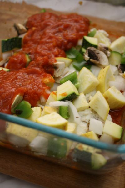 Vegetable Meatless Lasagna // Life Anchored #sp