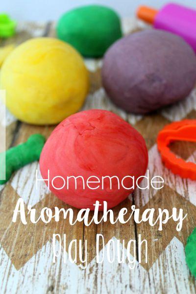 Aromatherapy Play Dough // Life Anchored #NationalPlayDohDay