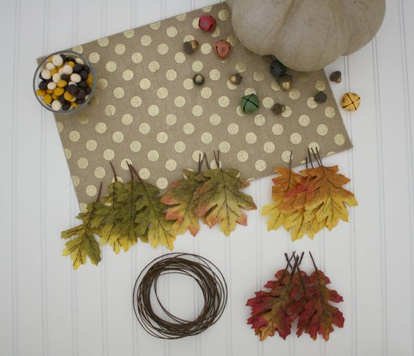Fall Leaf Garland // Life Anchored #ad