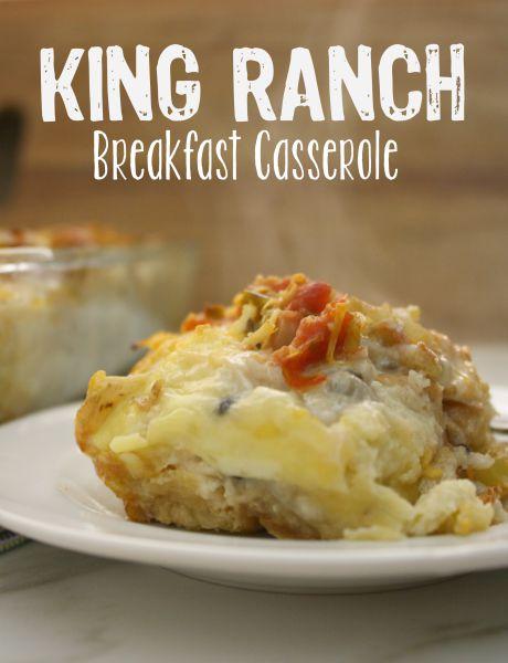 King Ranch Breakfast Casserole // Life Anchored #partner #LonestarEggs