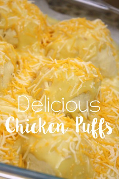 Simple Dinner Idea - Chicken Puffs // Life Anchored #NaturallyCheesy ad