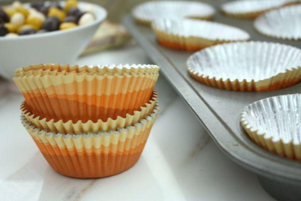 Easy Pumpkin Cream Cheese Cupcakes // Life Anchored #sp #BakeInTheFun