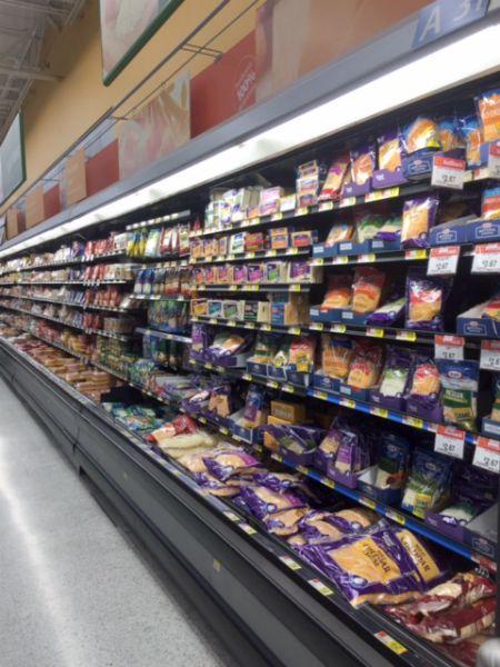 Walmart Cheese Aisle // Life Anchored #sp