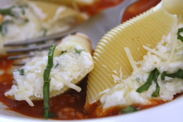 Three Cheese Stuffed Shells // Life Anchored (ad)