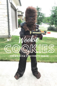 Wookie Cookies Chewbacca's Favorite Snack //Life Anchored