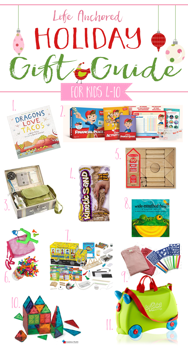 Life Anchored 2015 Holiday Gift Guide for Kids // Life Anchored