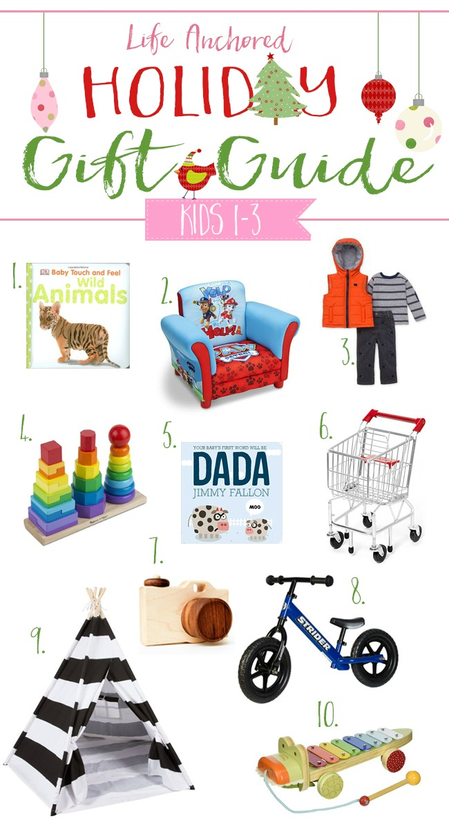 Life Anchored 2015 Holiday Gift Guide for Toddlers // Life Anchored