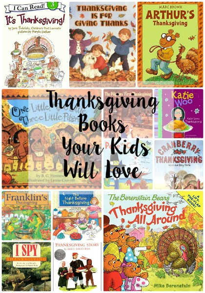 Thanksgiving Books for Kids // Life Anchored