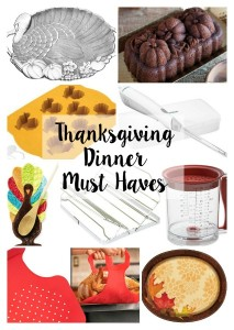 Thanksgiving Dinner Must Haves // Life Anchored