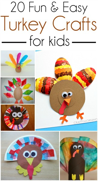 Thanksgiving Turkey Crafts for Kids // Life Anchored