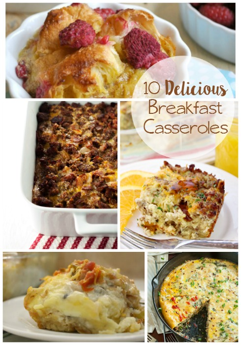 10 Delicious Breakfast Casserole Ideas // Life Anchored