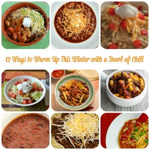12 Ways to Warm Up This Winter with a Bowl of Chili // Life Anchored