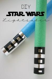 DIY Star Wars Lightsaber // Life Anchored
