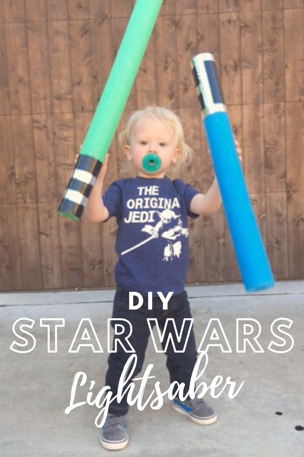 DIY STAR WARS Lightsaber // Life Anchored