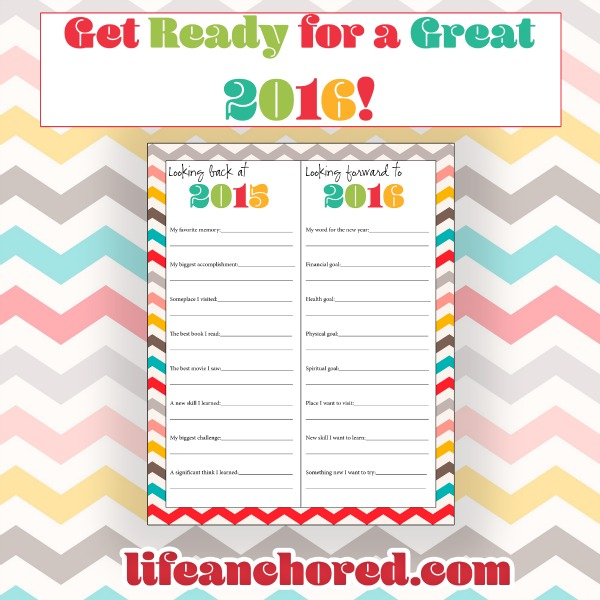 new year goals printable life anchored