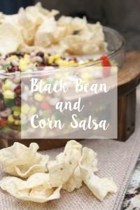Black Bean and Corn Salsa // Life Anchored ad