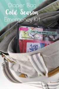 Diaper Bag Cold Season Emergency Kit